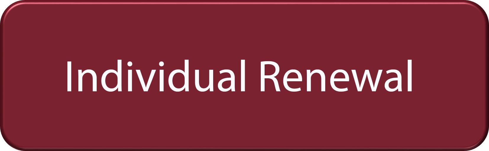 Renew Individual Membership